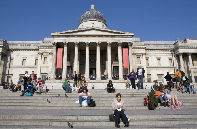 National Gallery exterior london