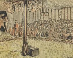 2. jack b. yeats, r.h.a. | duffy's circus