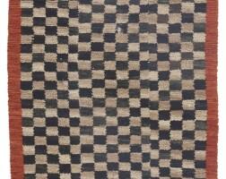 8. tibet, circa 1900 | 'checkerboard' khaden rug