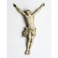3. a very fine ivory figure of christ crucified probably flemish, late 17th century