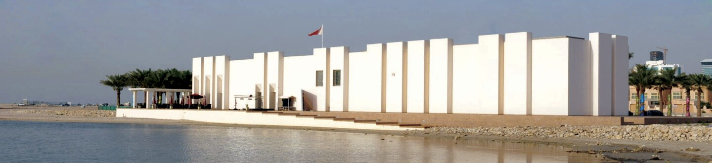 Exterior of Qal'at al-Bahrain Site Museum.