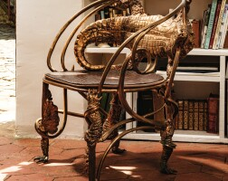 7. claude lalanne | fauteuil crocodile