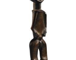 34. statue, mbété, gabon |