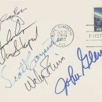 58. first day of issue postal cover - signed
