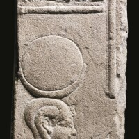2. an egyptian sandstone relief fragment, ptolemaic period, 305-30 b.c.