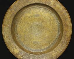 104. a veneto-saracenic dish, ascribed to mahmud al-kurdi, egypt or syria, second-half 15th century