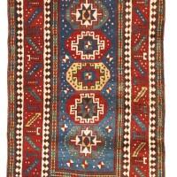 43. a moghan kazak rug, southwest caucasus