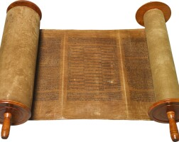 168. torah scroll, [iberian peninsula: ca. 1470]