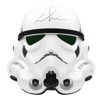 """17. a stormtrooper helmet from the """"star wars"""" series"""