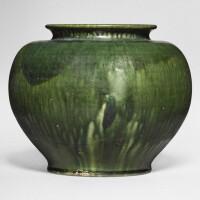 1. a green-glazed pottery jar tang dynasty