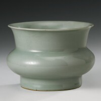 34. a rare 'longquan' celadon vessel southern song dynasty
