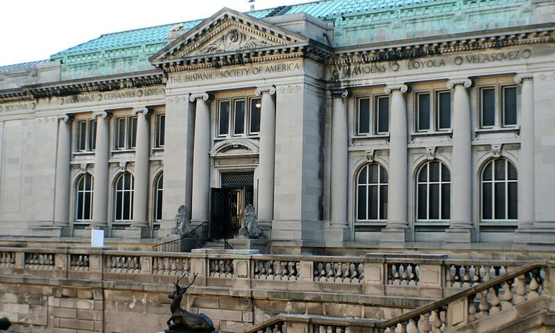 Facade of the Hispanic Society of New York