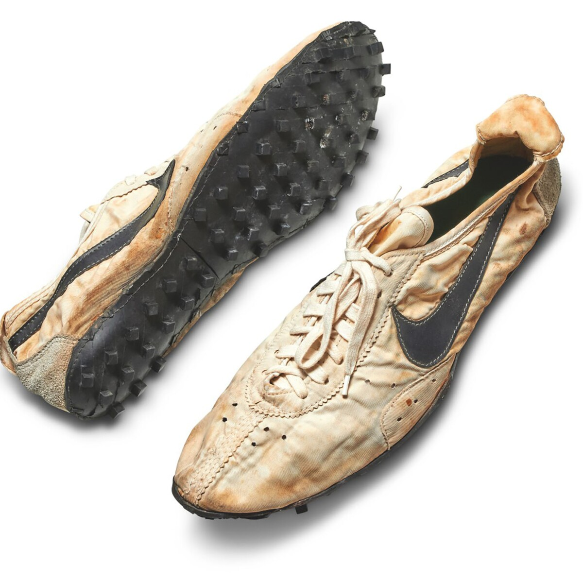 Rare Nike Racing Flats Set Auction Record | Online Auctions | Sotheby's Most Expensive Nike Shoes