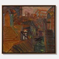27. 弗蘭克·奧爾巴赫 | 《通往畫室》