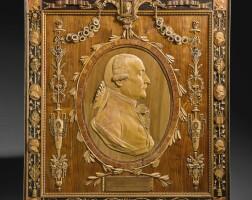 27. 意大利椴木、胡桃木、鬱金香木、黑檀木及果木袖珍自畫像浮雕,朱塞佩·馬里亞·邦扎尼戈製造 1796年 |