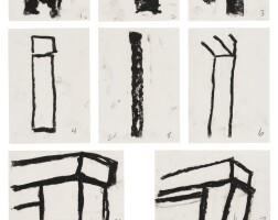 108. richard serra | study for span for alexander and gilbert