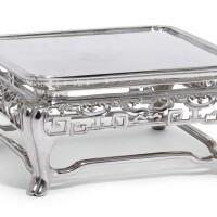 15. an austrian oriental style silver stand, wenzel john, vienna, 1858  