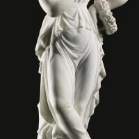 9. after a model by antonio canova (1757-1822) professor giuseppe biggi (active late 19th century) italian, florence, late 19th century
