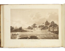 48. hodges, william. 'choix de vues de l'inde, dessinées sur les lieux, pendant les années 1780, 1781, 1782, et 1783. [with]: select views in india, drawn on the spot, in the years 1780, 1781, 1782, and 1783'.london:printed [by joseph cooper] for the author; and sold by j. edwards, [1785–88]