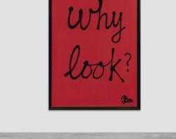 230. ben vautier   why look?
