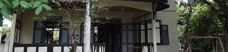 Exterior view of Bangkok Folk Museum.