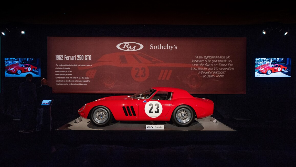 1962 Ferrari 250 Gto Leads Top 10 Automobiles Of 2018 Automobiles