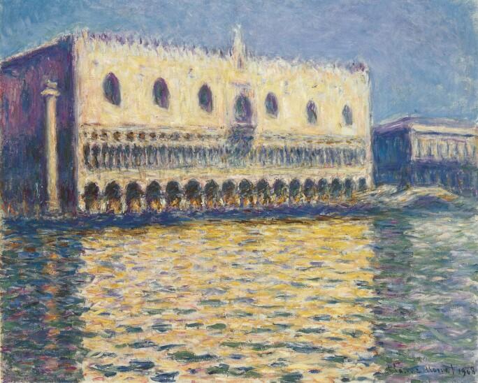 Monet Venice Brooklyn Museum