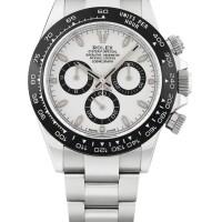 13. 勞力士(rolex) | 116500ln型號「daytona」精鋼計時鍊帶腕錶,年份約2018。