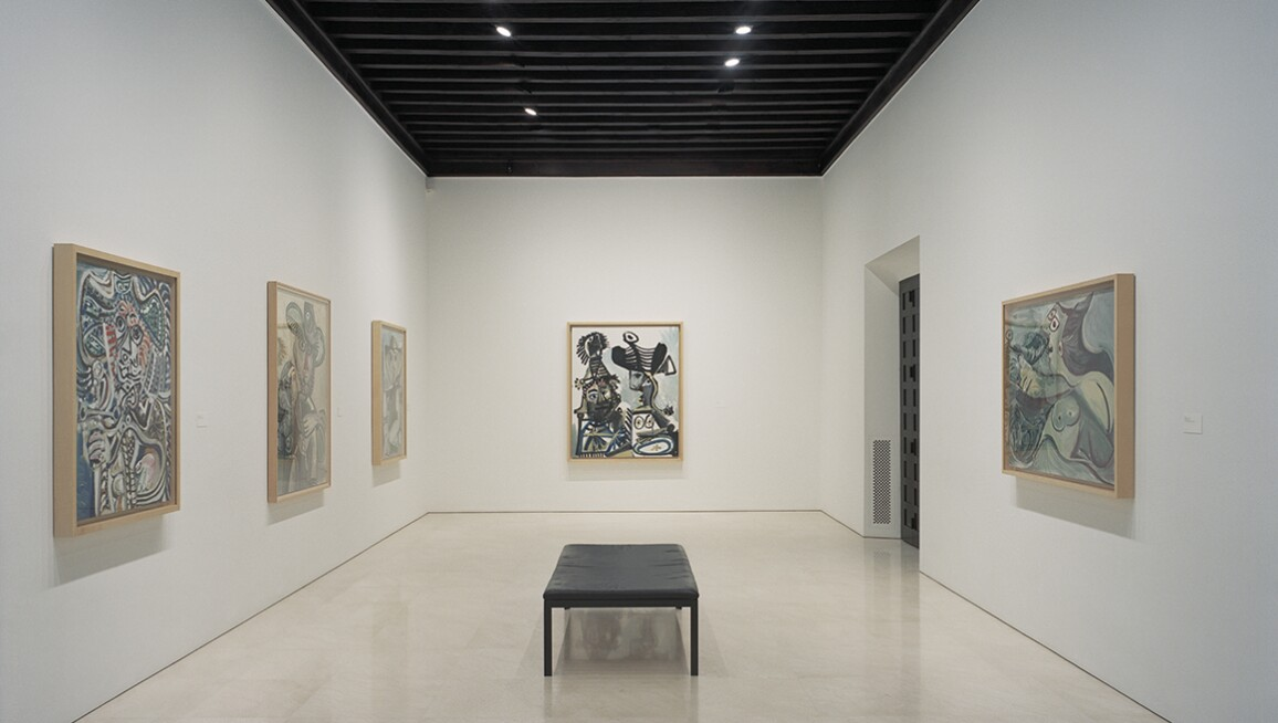 Interior View, Museo Picasso Málaga