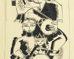 103. Maqbool Fida Husain