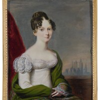 319. alexandre delatour | portrait of countess elisaveta vorontsova, née branicka (1792-1880)