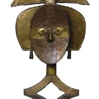 38. figure de reliquaire, kota, gabon |