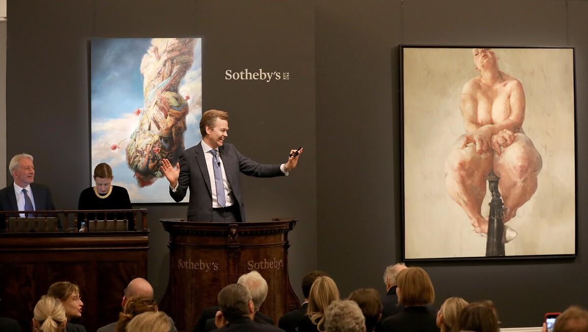 Sotheby's Contemporary Art Evening Auction Jenny Saville