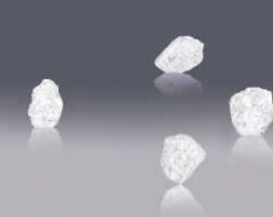 1. lesedi la rona the largest gem quality rough diamond to be discovered in over a century the largest gem quality diamond in existence today an historic rough diamond