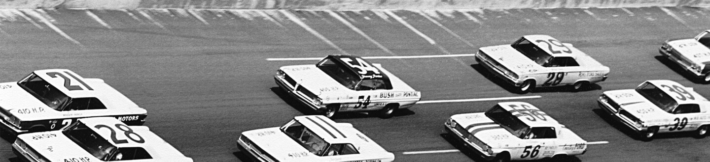 Daytona NASCAR 1963 - Second Daytona 500 Qualifier