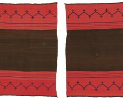11. classic navajo dress, two panels, four corners area