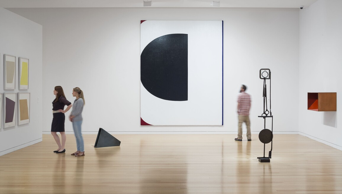 Colby College Museum of Art, Interior Galleries