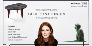 Inspirational Living: Important Design with Julianne Moore