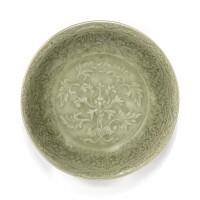 12. coupelle en grès céladonlongquan dynastie ming, xve siècle |