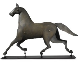 1225. horse trade signamerican school, 19th century | horse trade signamerican school, 19th century