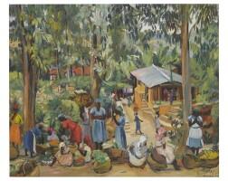 5. lois mailou jones | market-kenscoff, haiti