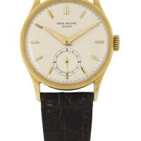 187. 百達翡麗(patek philippe) | 570型號黃金腕錶,1953年製。