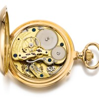 25. a. lange & söhne, glashütte | a fine pink gold open-faced keyless leverwatch with dead centre secondscirca 1906, no. 45294