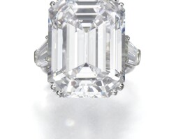 504. important diamond ring, graff
