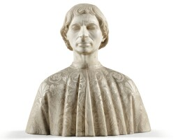 13. in15th centurystylebust of a man |
