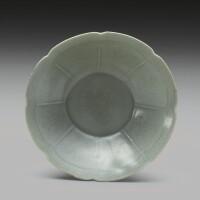 48. a korean celadon foliate rim dish goryeodynasty, 12th century