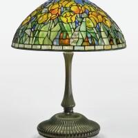 "329. tiffany studios | ""tulip"" table lamp"