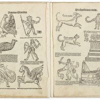 8. venetus, paulus. primus liber incipit de compositione mundi. [paris: 1513]