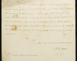 8. autograph letters