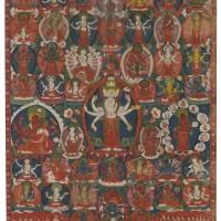 903. a paubha depictingavalokiteshvara nepal,dated by inscription to 1779 |
